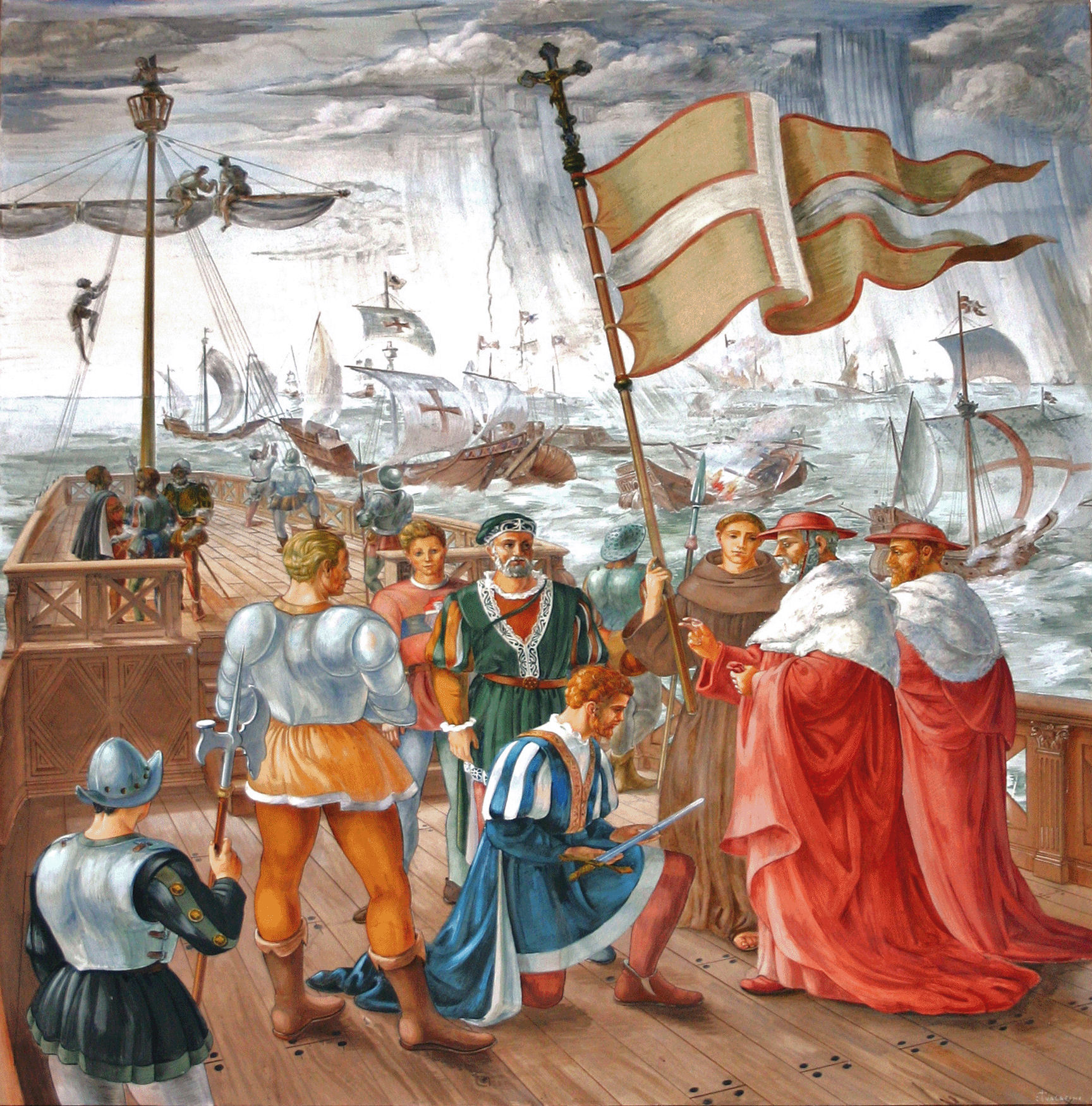 The Battle of Lepanto, 1571 A.D.: Real Crusades History – What REALLY  Happened? | PagadianDiocese.org