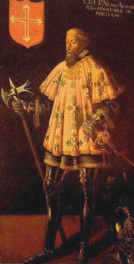 Count St. Nuno Álvares Pereira, Constable of Portugal
