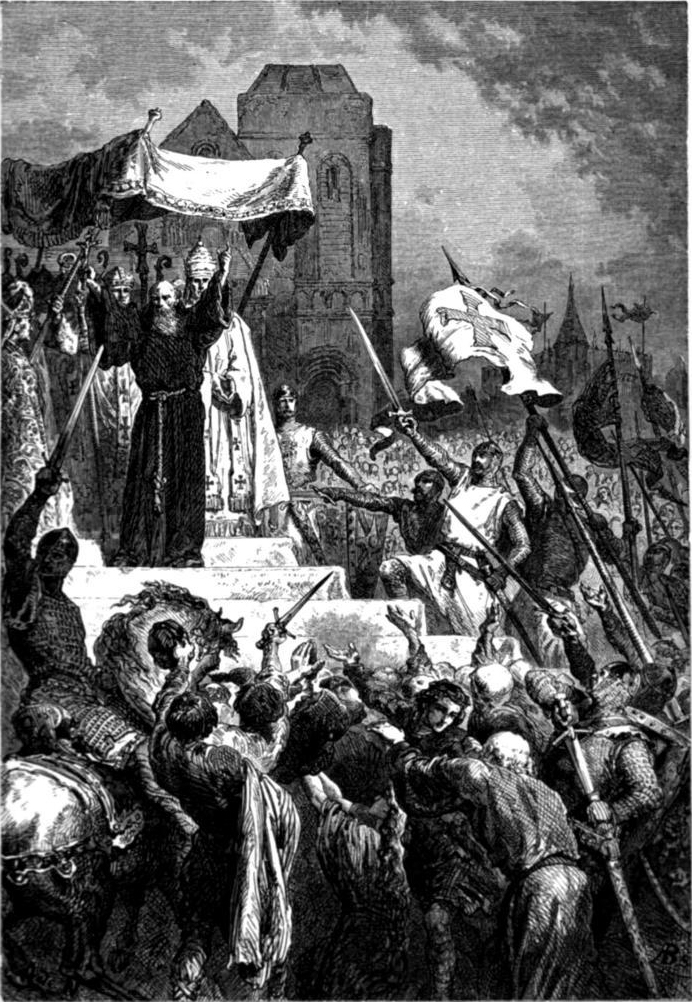crusades and pope urban Crusades overview first crusade third crusade venetians take constantinople saladin saladin takes jerusalem: the crusades in 1095 an assembly of churchmen called by pope urban ii met at clermont, france.