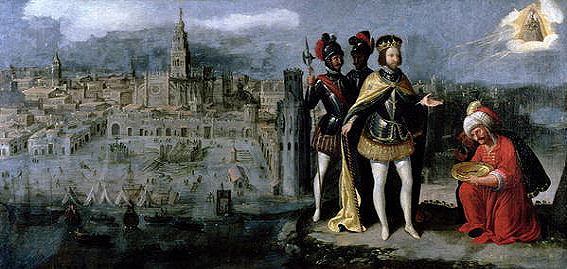 Capture of Seville by Ferdinand III by Francisco Pacheco