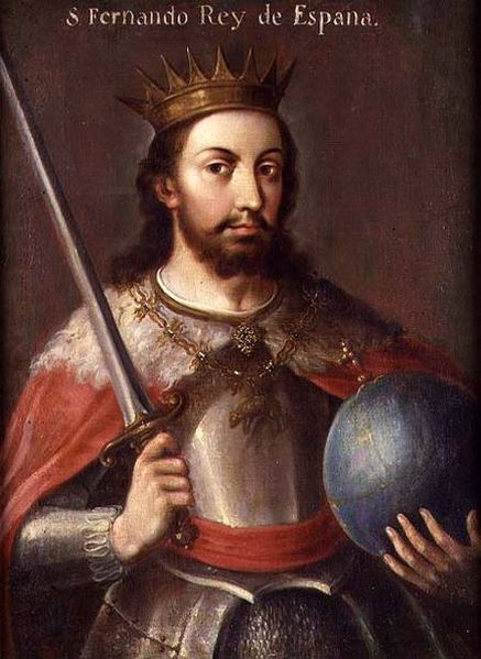 http://commons.wikimedia.org/wiki/File:Ferdinand_III_of_Castile.jpg