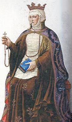 Queen Berenguela, mother of Ferdinand III