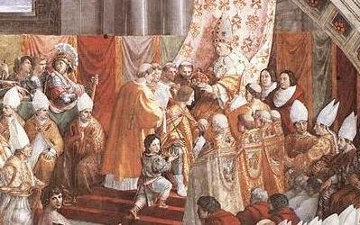 http://commons.wikimedia.org/wiki/File:Raphael_Charlemagne-2.jpg