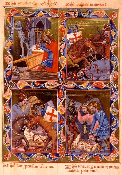 A few scenes of the almost innumerable stories associated with Saint Latislaus, one of the most beloved kings of Hungary.