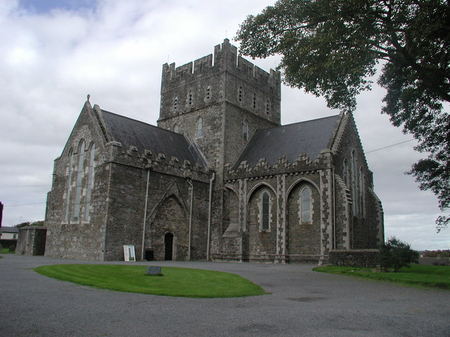http://commons.wikimedia.org/wiki/File:St_Brigid%27s_Cathedral_Kildare_-_geograph.org.uk_-_250948.jpg