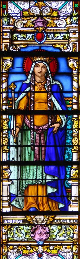 http://commons.wikimedia.org/wiki/File:Vitrail_Sainte_Clotilde_Saint-Mihiel_271108.jpg