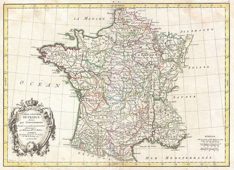 Map Of France In 1789.Astonishing Adult Literacy Rates In France Before The 1789 French