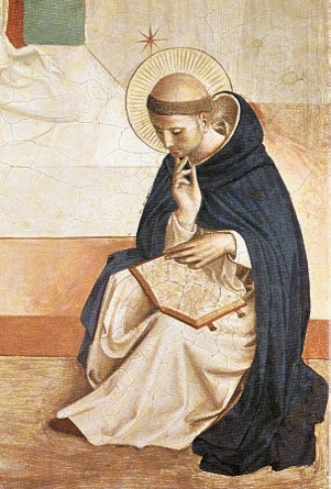 Painting of St. Dominic by Blessed Fra Angelico