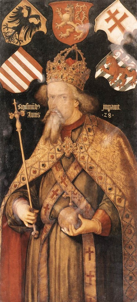 Emperor Sigismund III of Poland painted by Albrecht Dürer