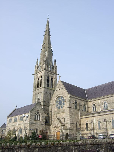 Also called St. Eunan's Cathedral, after St. Adhamhnáin.