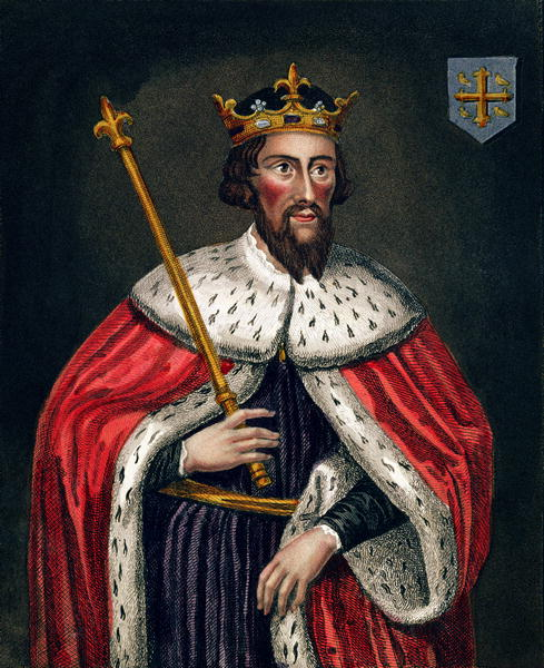 19th century Portrait of Alfred the Great