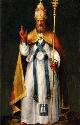 Painting by Bernardino Campo