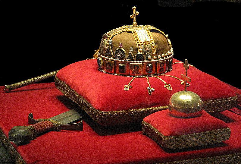 Crown, Sword and Globus Cruciger of Hungary