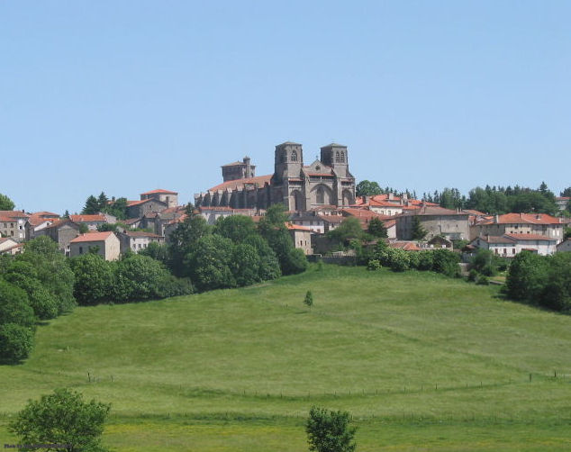 The Abbey at La-Chaise-Dieu