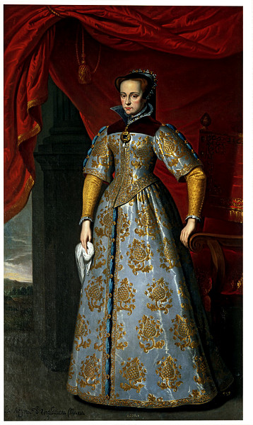 Painting of Queen Mary I by Antonis Mor