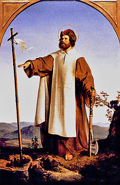 St. Boniface, Painted by Alfred Rethel