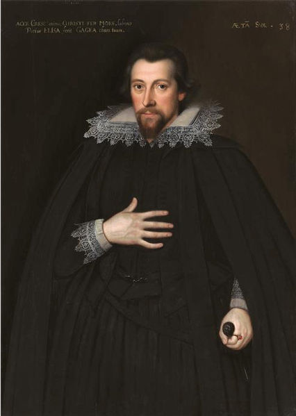 Portrait of Christopher Cresacre More (1572‒1649), great-grandson and biographer of St Thomas More.