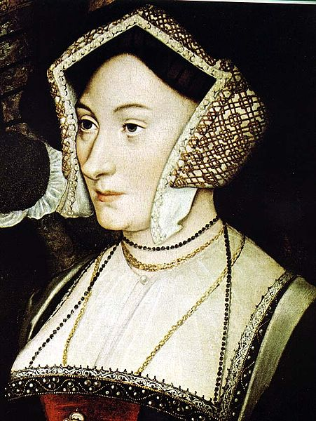 Margaret Roper, the eldest daughter of Sir Thomas More. Painted by Holbein.