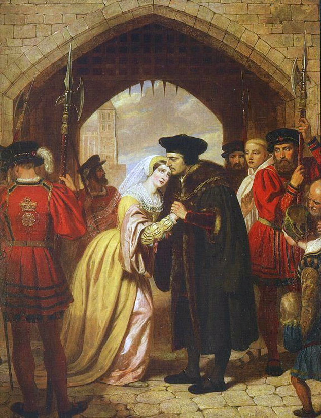 Sir Thomas More Bids Farewell to his Daughter