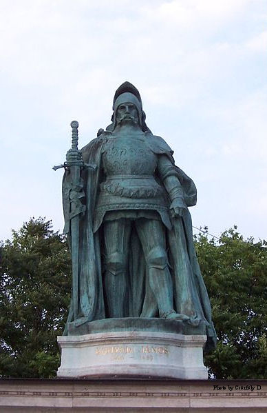 Statue of John Hunyadi in Budapest, Heroes' Square