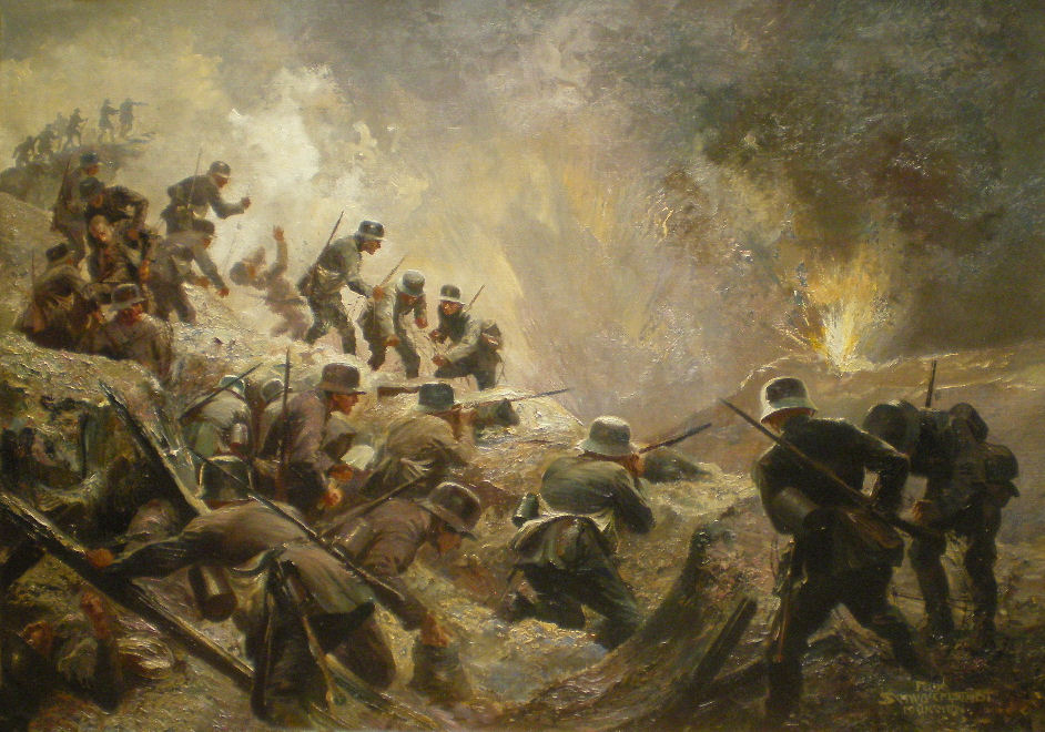 war in the trenches essay