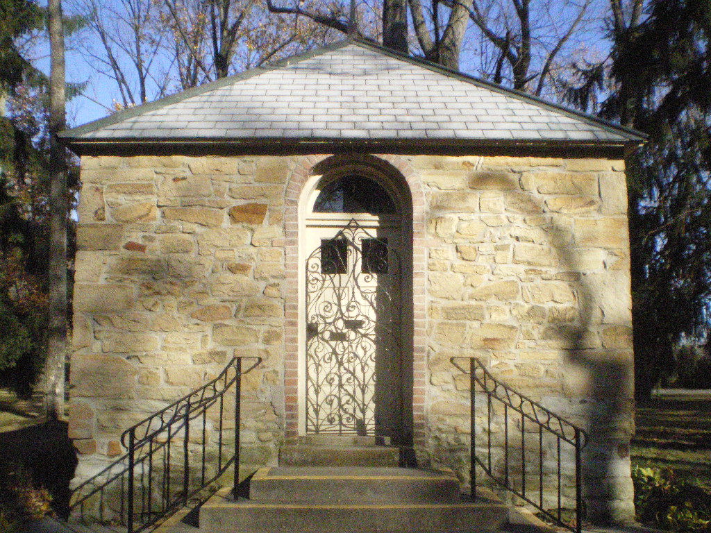 St. Anne Shell Chapel, located near the cemetery, built in fulfillment of a vow to St. Anne after being saved from a deadly storm at sea. The chapel doors are rarely locked even if the door is closed.