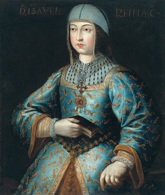 Isabella the Catholic, Queen regnant of Castile. Painting by Antonio del Rincón