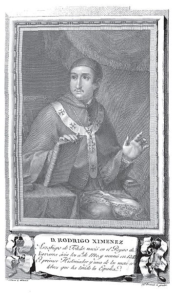 Archbishop of Toledo, Don Rodrigo Ximénez de la Rada