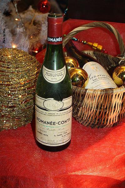 Romanée-Conti wine