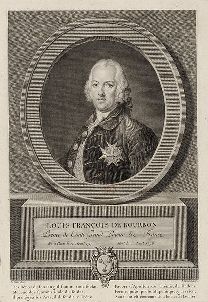 Louis François de Bourbon, Prince of Conti