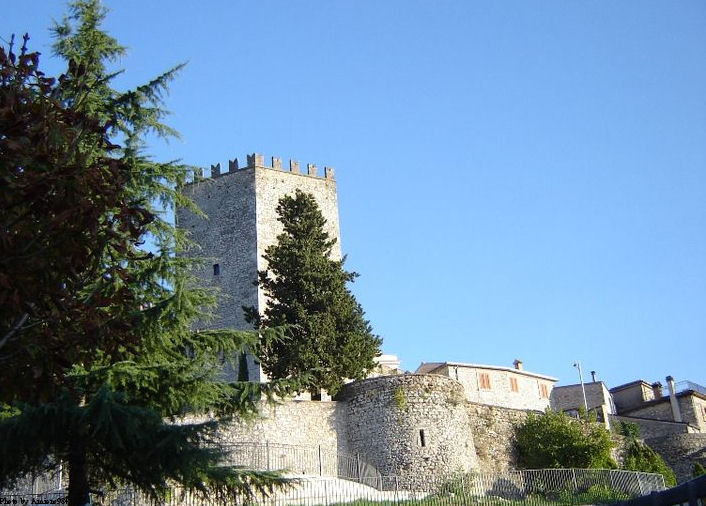 The Castle of Monte San Giovanni Campano, where St. Thomas was imprisoned by his family for two years.