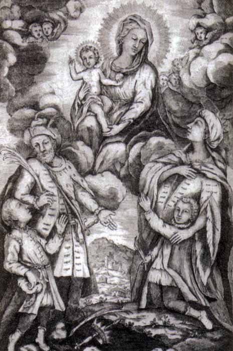 Saints Marius, Martha, Audifax and Abacum