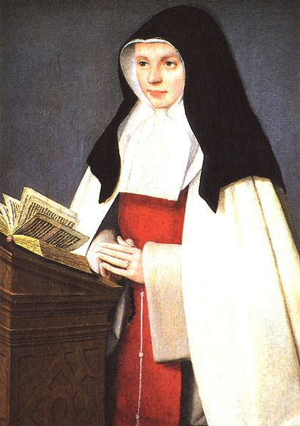 Portrait of St. Joan of Valois painted by Jehan Perréal