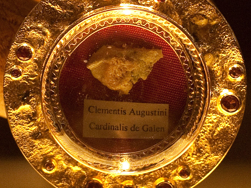Relic of Bl. Clemens in Bethen, Germany.