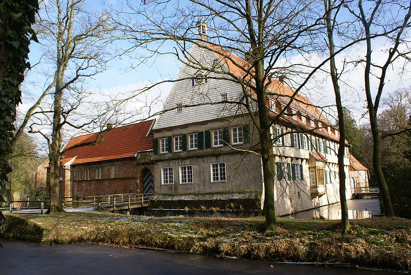 The  von Galen family home in Burg Dinklage.