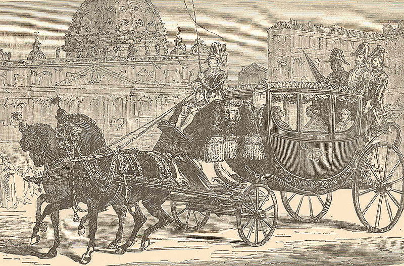 Carriage of Pope Pius IX