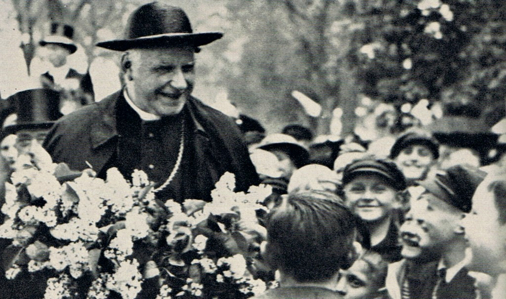 Blessed Clemens Von Galen and children