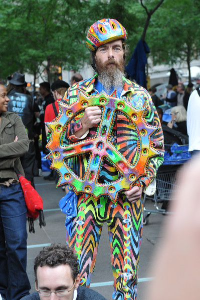 One of the many people that formed Occupy Wall Street.