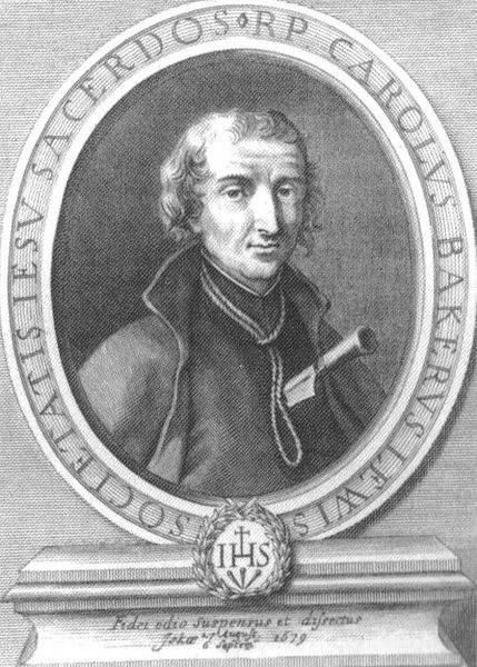 Saint David Lewis, engraving 1683