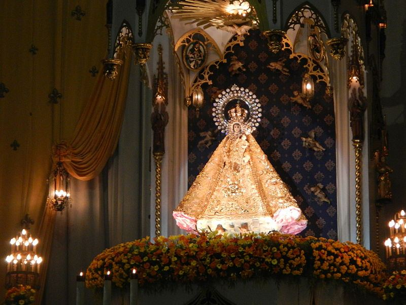 Our Lady of the Most Holy Rosary of La Naval de Manila. Photo by Ramon FVelasquez