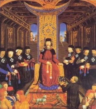Grand master & senior Knight Hospitallers