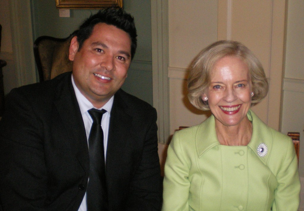 Governor General of Australia, Ms Quentin Bryce and Neil Willmett.