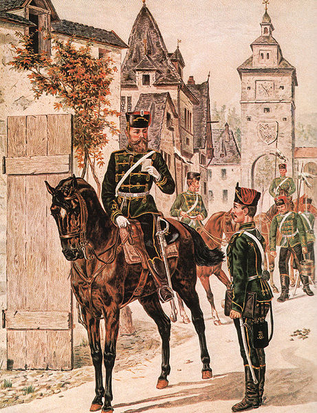 Prussian Hussars of the 10th Regiment