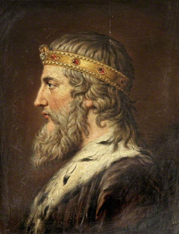 King Alfred the Great, painting by Samuel Woodforde.