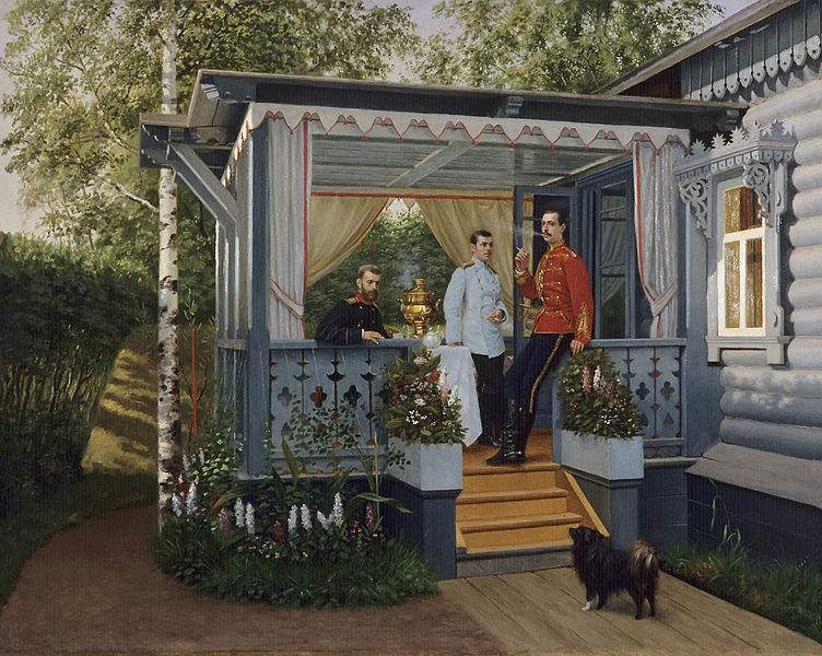 Painting by Nikolai Dmitriev-Orenburgsky