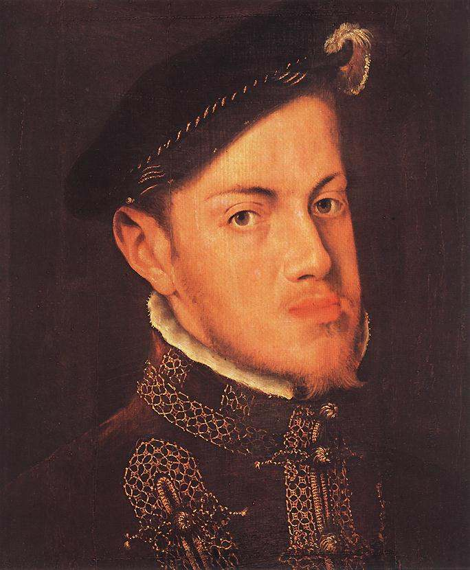 Portrait of the Philip II King of Spain by Mor Van Dashorstanthonis Van Dashorst, 1554