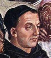 Posthumous portrait of Bl. Fra Angelico by Luca Signorelli