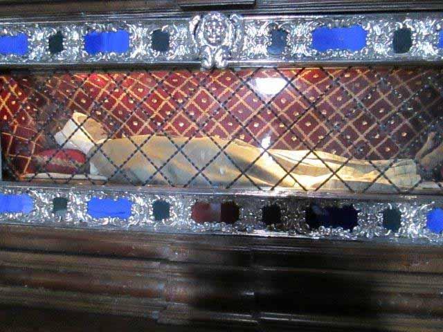 The Incorrupt body of St. Margaret Cortona.
