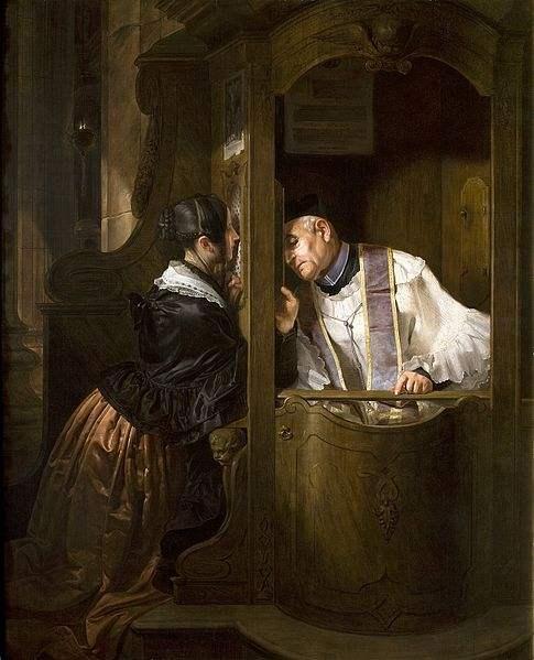 Confession by Giuseppe Molteni