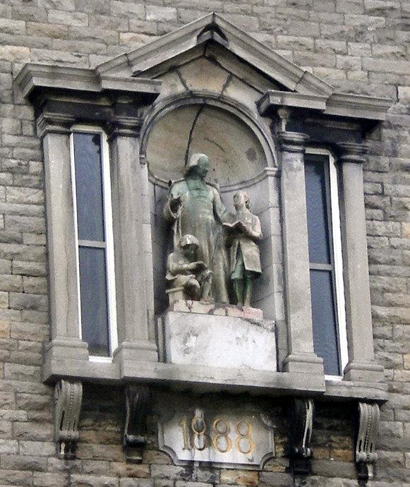 Statue of St. John Baptist de La Salle in Canada.